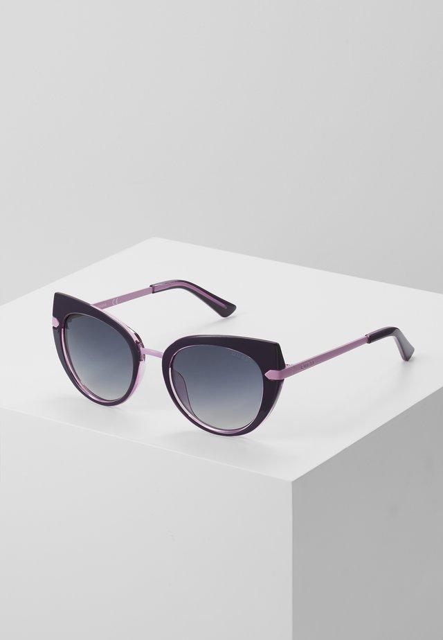 INJECTED - Okulary przeciwsłoneczne - black/pink