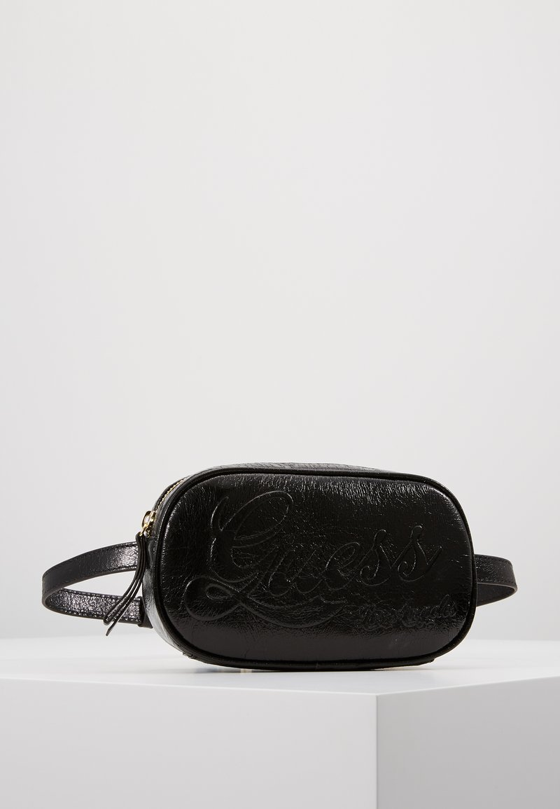 Guess - JUNIOR BUM BAG - Skulderveske - jet black