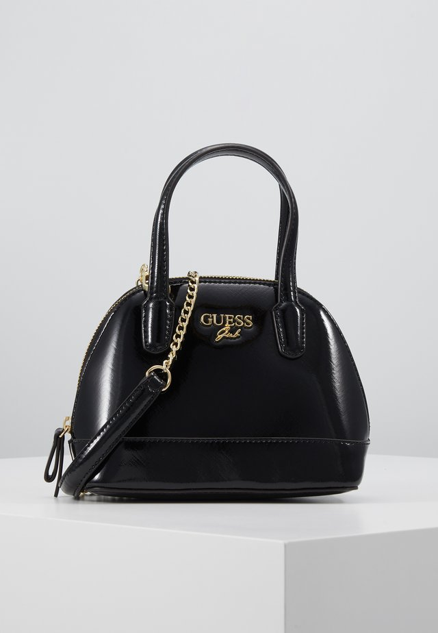 TOTE CROSSBODY TOP ZIP - Schoudertas - jet black