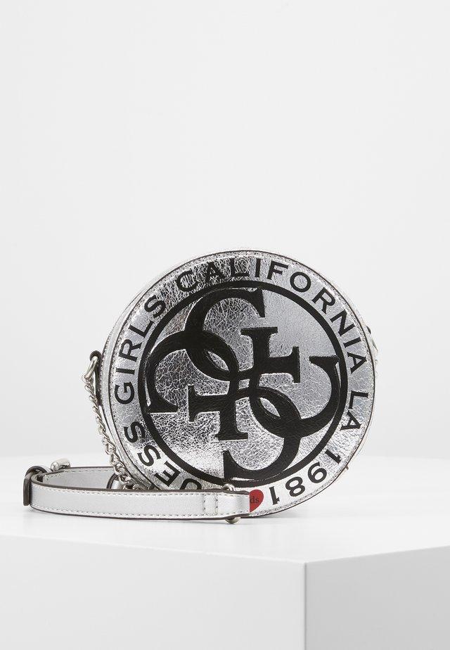 CIRCLE BAG - Torba na ramię - gris/silver