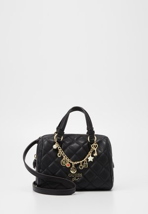 STACIE MINI BOX - Across body bag - black