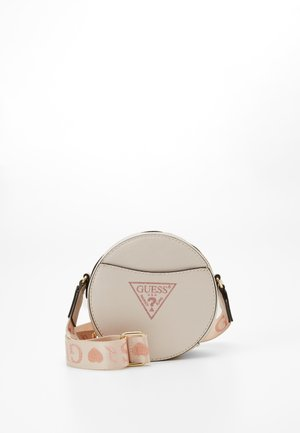 CIRCLE BAG - Across body bag - pearl