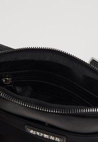 Guess - NEW MILANO MINI CROSSBODY FLAT - Across body bag - black - 5
