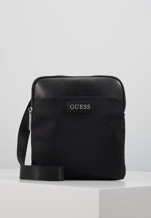 NEW MILANO MINI CROSSBODY FLAT - Across body bag - black