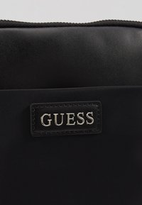 Guess - NEW MILANO MINI CROSSBODY FLAT - Across body bag - black - 2