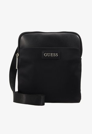 NEW MILANO MINI CROSSBODY FLAT - Schoudertas - black