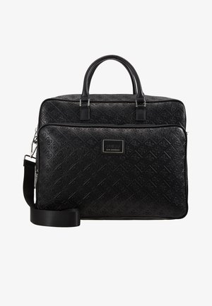 DAN LOGO BRIEFCASE - Briefcase - black