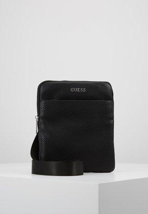 DAN MINI FLAT CROSSBODY - Across body bag - black
