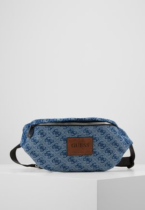 DAN LOGO BUMBAG - Bum bag - blue