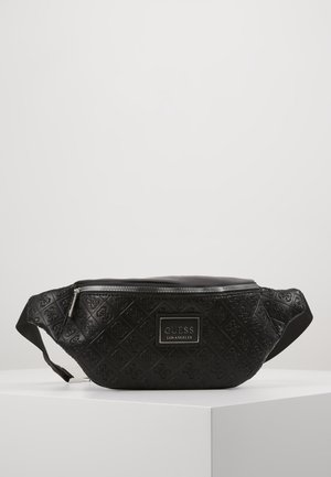 DAN LOGO BUMBAG - Bum bag - black