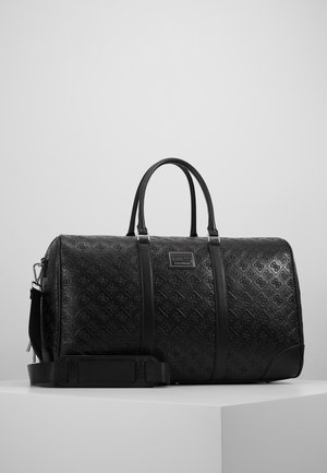 DAN LOGO WEEKENDER - Weekend bag - black