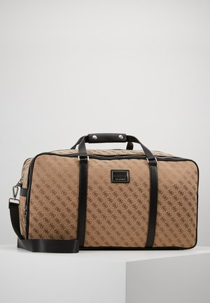 DAN LOGO WEEKENDER - Weekend bag - brown