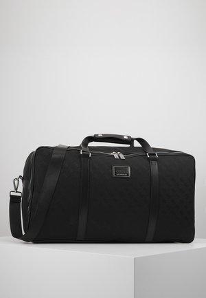 DAN LOGO WEEKENDER - Weekendbag - black