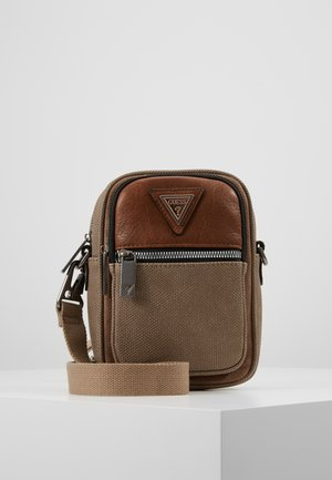 VERVE MULTIFUNCTIONAL DOC CASE - Across body bag - taupe