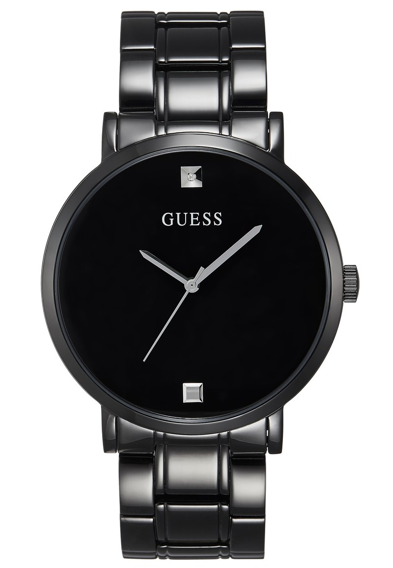 Guess - GENUINE DIAMOND - Hodinky - black