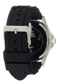 Guess - UNISEX SPORT DATE - Hodinky - black/silver-coloured - 1