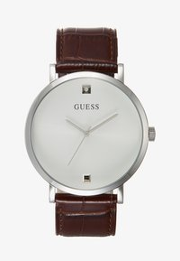 Guess - GENUINE DIAMOND - Montre - brown/silver-coloured - 0