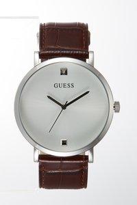 Guess - GENUINE DIAMOND - Montre - brown/silver-coloured - 3