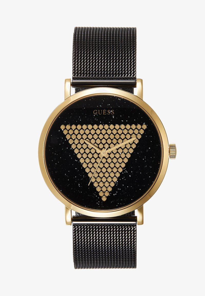 Guess - UNISEX TREND - Watch - black/gold-coloured