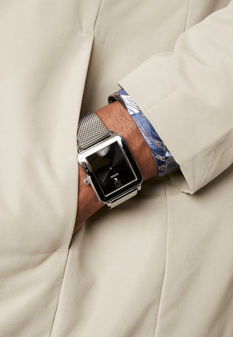 Guess - Horloge - silver-coloured