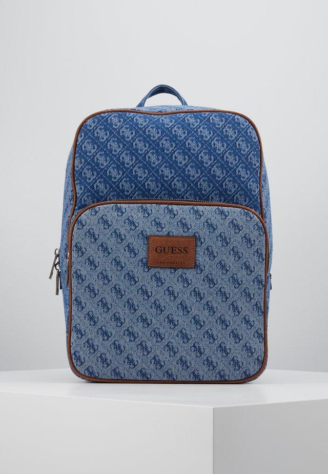 DAN LOGO BACKPACK - Rucksack - blue