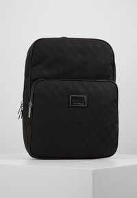 Guess - DAN LOGO BACKPACK - Reppu - black - 0
