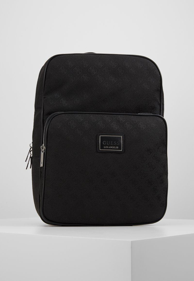 Guess - DAN LOGO BACKPACK - Reppu - black