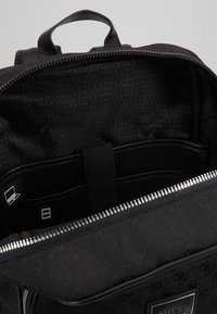 Guess - DAN LOGO BACKPACK - Reppu - black - 5