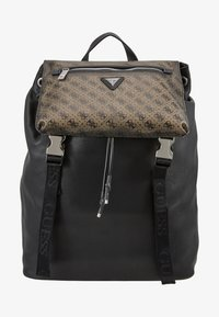 Guess - SALAMEDA BACKPACK - Reppu - black - 1