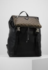 Guess - SALAMEDA BACKPACK - Reppu - black - 0