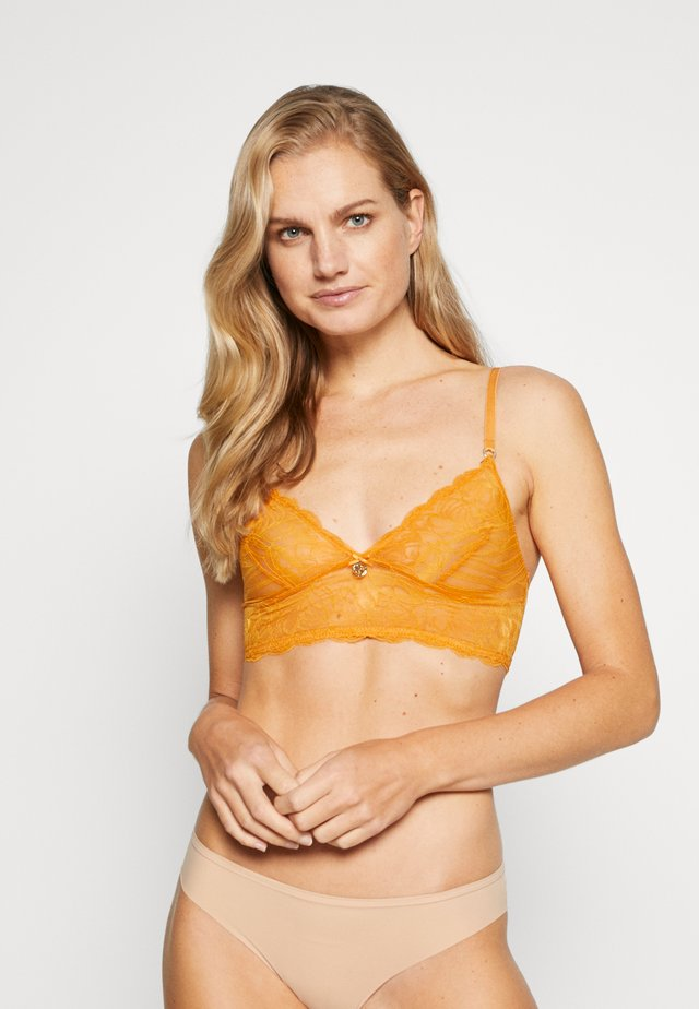 TOUCHES OF LUXE BRALETTE - Bustier - bright cinnamon