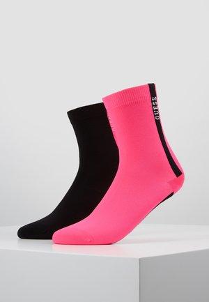 REGULAR SOCKS 2 PACK - Calze - pink/black