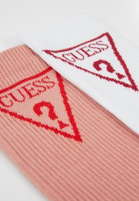 Guess - REGULAR SOCKS 2 PACK  - Calze - white/nude - 2
