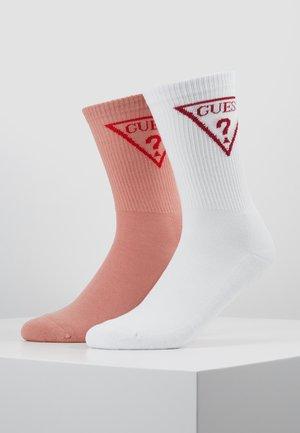 REGULAR SOCKS 2 PACK  - Sokken - white/nude