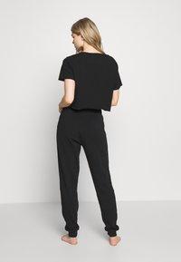 Guess - CROPPED - Maglia del pigiama - jet black - 2