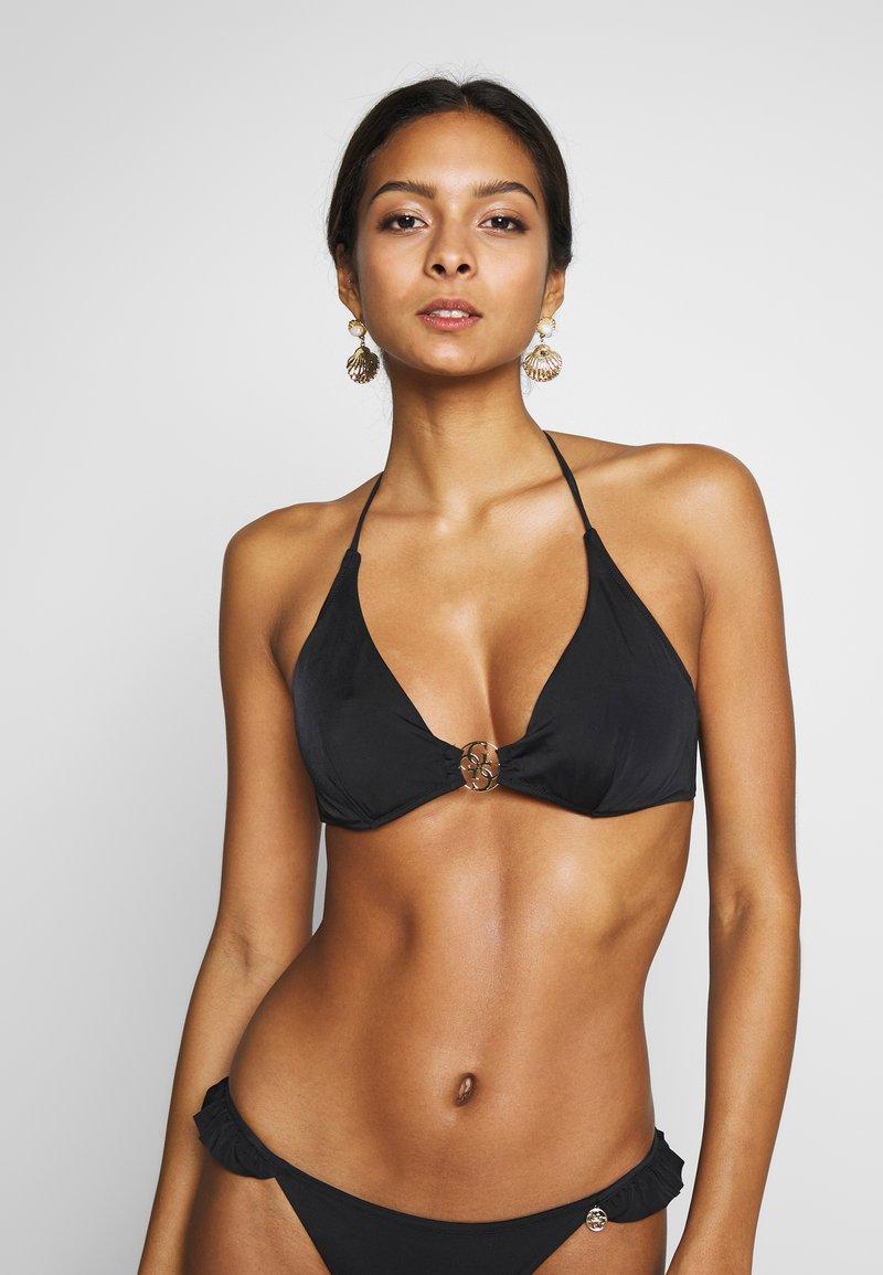 Guess - ICON WIRED CUP - Bikini top - jet black