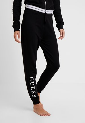 LONG PANT - Pyjamabroek - jet black