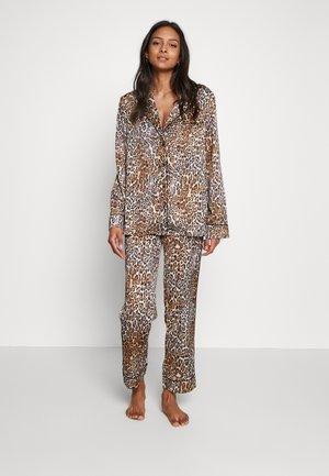 SET LONG - Pyjama - wild leopard