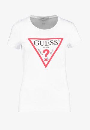 CREW NECK - Koszulka do spania - optic white