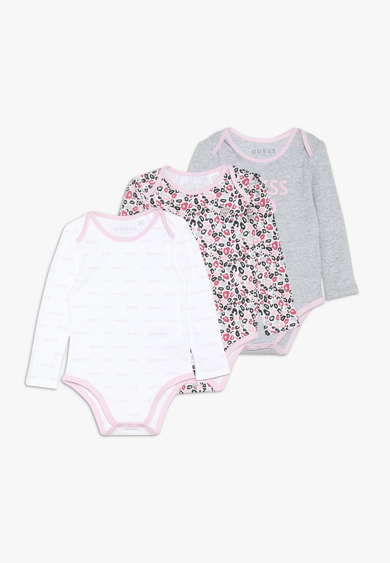 Guess - BABY 3 PACK - Body - grey