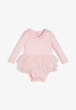 MIT EINSATZ AUS NETZSTOFF - Body - light pink