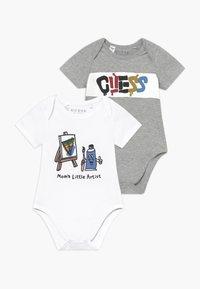 Guess - 2 PACK - Geboortegeschenk - grey/white - 0