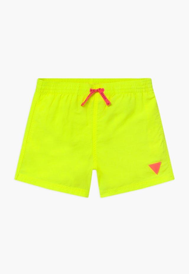 JUNIOR MINI ME - Zwemshorts - jaune/fluo yellow