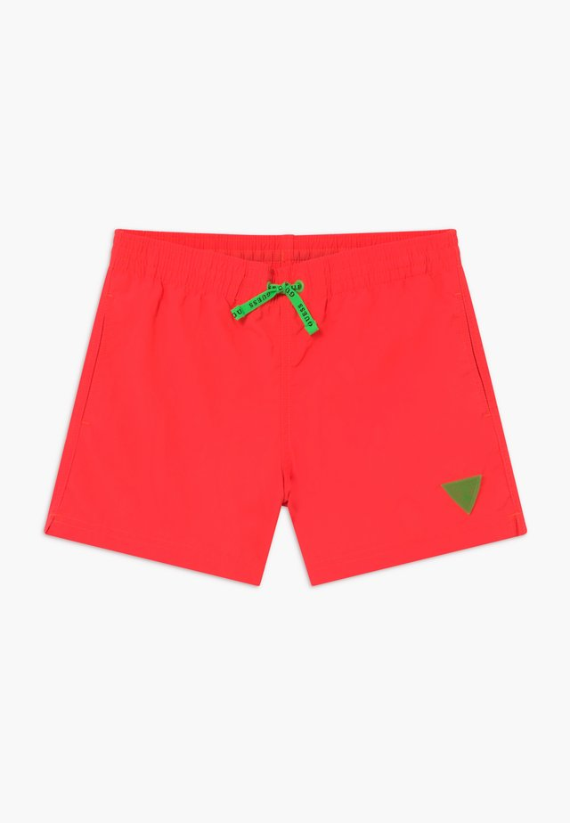JUNIOR MINI ME - Zwemshorts - fluo orange