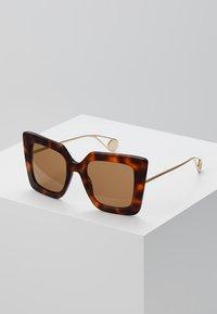 Gucci - Sonnenbrille - havana/gold-coloured/brown - 0