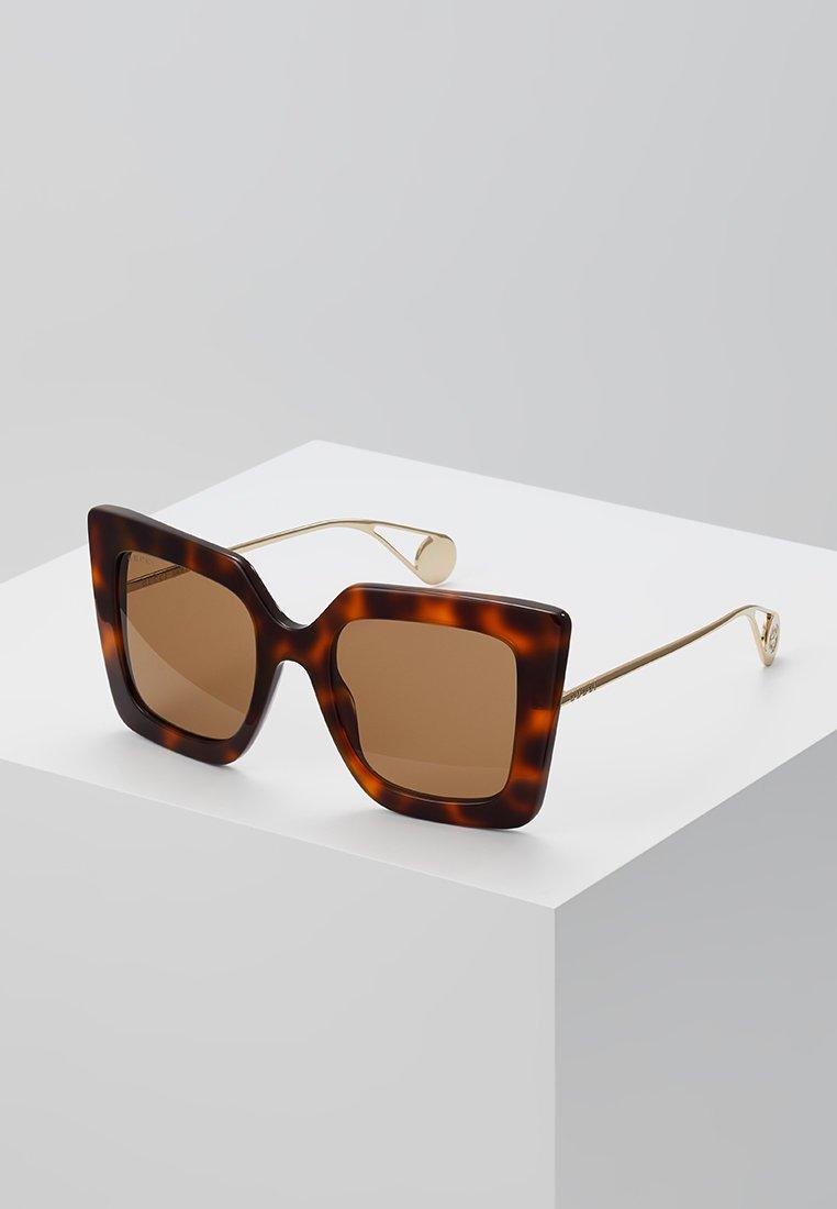Gucci - Sonnenbrille - havana/gold-coloured/brown