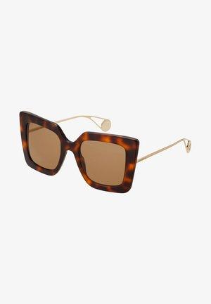 Solglasögon - havana/gold-coloured/brown