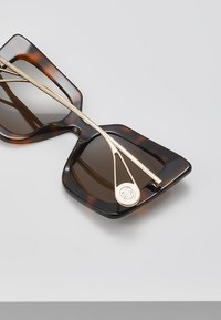 Gucci - Sonnenbrille - havana/gold-coloured/brown - 4