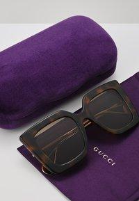 Gucci - Sonnenbrille - havana/gold-coloured/brown - 2