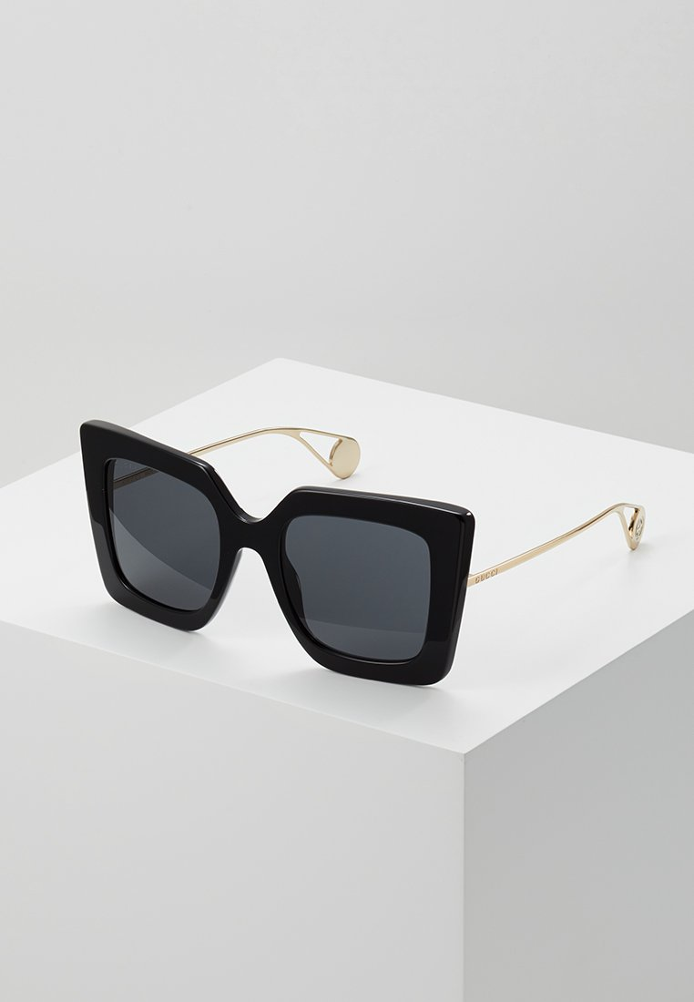 Gucci - Sonnenbrille - black/gold-coloured/grey